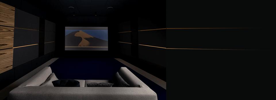 Notre salle home cinéma